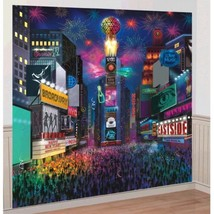 New Years Eve Times Square Scene Setter Wall Decoration Kit - $15.99