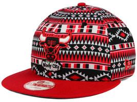 New Chicago Bulls New Era NBA HWC Tri-All Print 9FIFTY Snapback Hat Cap - ₹1,435.32 INR