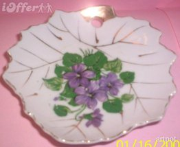 MADE IN JAPAN- NASCO (NATIONAL SILVER COMPANY) FLORAL DISH - $9.95
