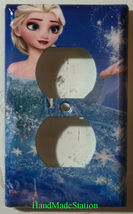 Frozen Elsa snow star Light Switch Toggle Rocker Duplex Outlet wall Cover Plate  image 2