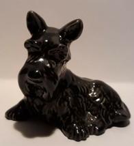 Wade Collectors Club Smudger Black Scottie Dog Figurine  Vintage 1996/1997 - $19.79