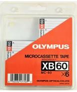 Olympus XB60 Tapes Micro Cassettes 5 Cassettes Unused - $15.83