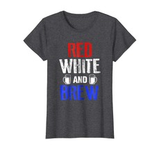 Dad Shirts - Drinking Brew Shirt Funny Beer 4th of July USA America Gift Wowen - $19.95+