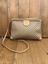 Authentic Gucci Micro GG Canvas Flat Crossbody Bag - $275.00
