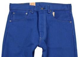 NEW LEVI'S 501 MEN'S ORIGINAL FIT STRAIGHT LEG JEANS BUTTON FLY BLUE 501-1435 image 3