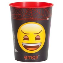 Emoji Halloween Monster Plastic 16 oz Favor Cup - $2.19