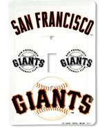 San Francisco Giants Aluminum Novelty Single Light Switch Cover - $5.95