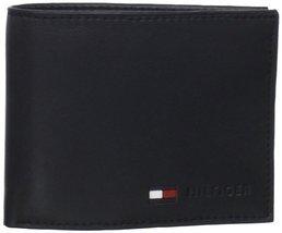 Tommy Hilfiger Men's Stockon Coin Wallet,Black,