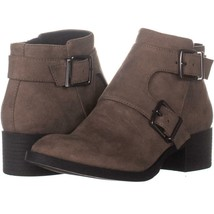Kenneth Cole REACTION Re-Buckle Low-Heel Ankle Boots 200, Putty, 6 US / ... - $39.35