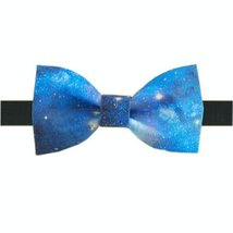 Creative Stylish Fashion Bow Tie Blue Sky Men Tie Neckties Boy Bow Ties Cravat