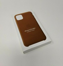 Apple Leather Case (for iPhone 11 Pro Max) - Saddle Brown - $39.59