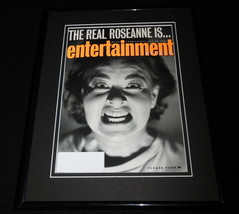 Roseanne Barr Framed ORIGINAL 1991 Entertainment Weekly Cover - $32.36
