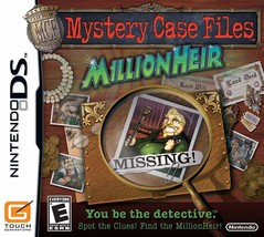 Mystery Case Files: MillionHeir DS - $98.99