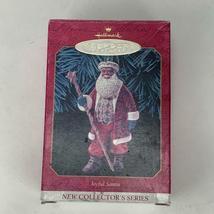 Hallmark Keepsake Ornament Joyful Santa Collectors Series 1999 Vintage image 6