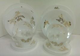 1960's Federal Glass Golden Glory Milk Glass Go... - $18.76