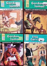 Lot of 4 Mini Books en Espanol: Gordon Lumas / Lou Carrigan GL-LC - $6.00