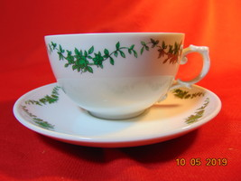 """2"""", Porcelain, Tea Cup & Saucer, from Furstenberg, of W. Germany, in 027... - $9.99"""