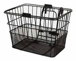Bicycles Detachable Steel Half-Mesh Apollo Bike Basket with Handles - $50.24+