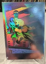 1991 Marvel Universe II Punisher #H-3 Hologram Marvel Insert Card NM/M Impel - $7.19