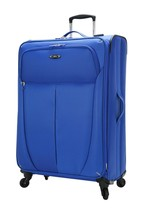 """Skyway Luggage Mirage 28"""" 4 Wheel Expandable Carry On Spinner Suitcase Blue - $39.99"""