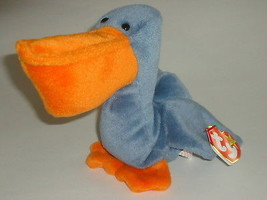 Scoop The Pelican 1996 Ty B EAN Ie Baby With Tags - $5.99