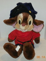 "1986 Sears Calltoy An American Tail Fievel Mouse 22"" Plush Stuffed Animal - $46.75"