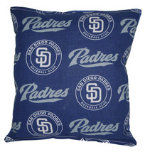 Padres Pillow San Diego Padres MLB Pillow HANDMADE Baseball Pillow Made ... - $9.97