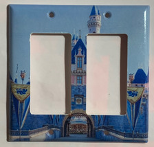Sleeping beauty castle Light Switch Outlet Toggle wall Cover Plate Home Decor image 5