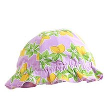 Printing Flower Outdoor Summer Sun-resistant Infant Hat Baby Fisherman Cap image 2