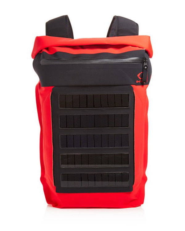 O-RANGE ULTRALIGHT REMOVABLE SOLAR PANEL MADE IN ITALY WATERPROOF BACKPACK $395