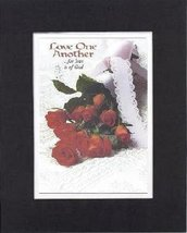 Poems for Love & Marriage - Love one another . . . For love is of God . . . 8 x  - $11.14