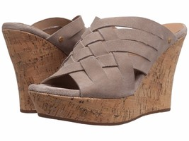 UGG Marta High Wedge Sandals Horchata Mult Sz - $119.99