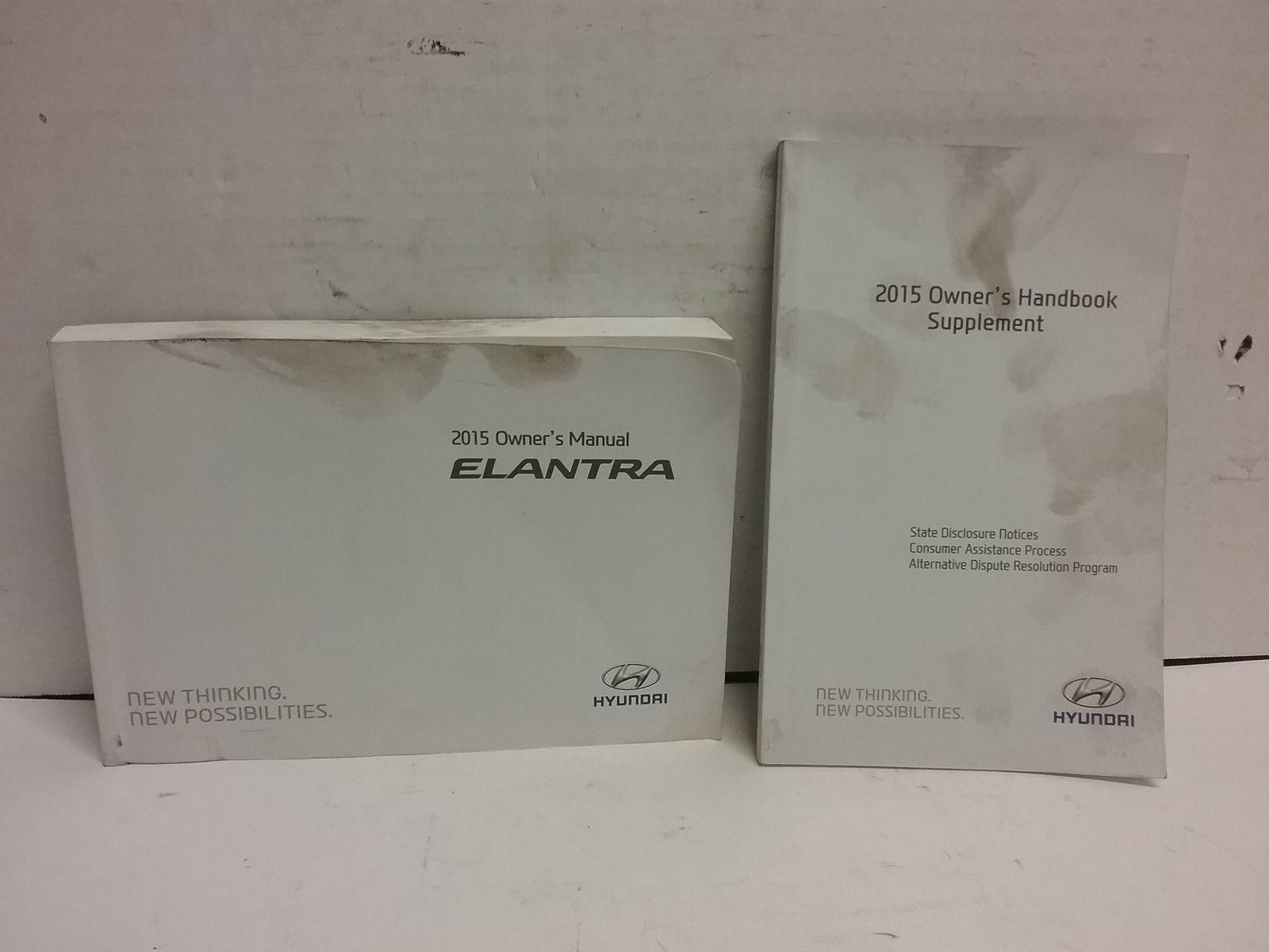 2015 Hyundai Elantra Owners Manual By Hyndaid