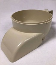 West Bend 6500 Food Processor Replacement Work Bowl Chute Hopper - $12.73
