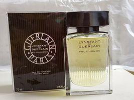 Guerlain L'instant De Guerlain Pour Homme Cologne 2.5 Oz Eau De Toilette Spray image 6