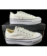 Converse Chuck Taylor All Star Lift Platform Ox Sneaker White 540265F 8 ... - $65.00