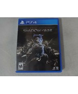 EUC Middle Earth Shadow Of War Sony Playstation 4 PS4 Game Complete Free... - $16.82