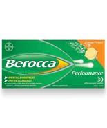 180 Tablets Berocca Performance Effervescent Vitamin Orange NO Caffeine 6 Boxes  - $139.95