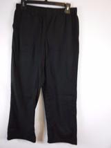 White Stag Black Elastic Waist Casual Cotton Bl... - $9.89