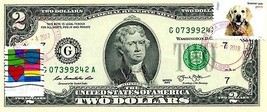 MONEY US $2 DOLLARS 2013 STAMP CHICAGO CANCEL LOVE PETS DOGS GEM UNC - $74.88