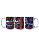 NEW YORK NY METS MLB 15 OZ CERAMIC BALLGAME COFFEE MUG FROM BOELTER - $9.00