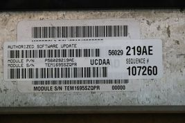 Dodge Chrysler 5.7L Hemi Engine Control Unit Module ECU ECM P56029219AE image 3