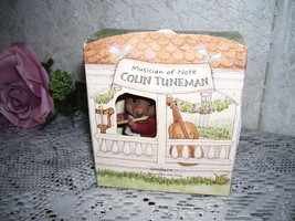 Moustershire Figure Colin Tune Man 1990  Hallmark MIB  - $23.36