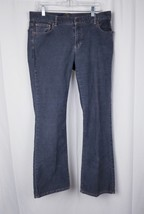 Womens Polo Jeans Company  Pant Boot Cut Gray Sz 12 curdoroy - $14.95