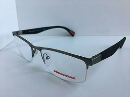 New PRADA VPS 52F UA3-1O1 52mm Gray Men's Semi-Rimless Eyeglasses Frame  - $149.99