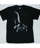 Assassins' Creed Video Game Half Mooned Silhouette Logo T-Shirt NEW UNWORN - $14.50+