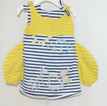 Rare Editions 2 Piece Set Summer Dress Scooter Umbrella Bloomers Size 12 Months image 5