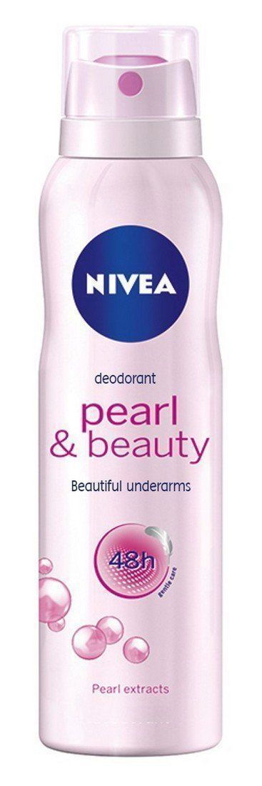 Nivea Pearly and Beauty Deodorant 48Hours, 150ml X 2 pack **