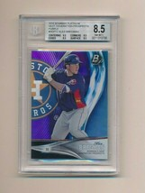 2016 Bowman Platinum Next Gen Prospects Purple /250 Alex Bregman BGS 8.5 - $20.00