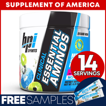 "Bpi Clinical Essential Aminos EAA/BCAA 14 Servings Arctic Ice ""FREE SHIP... - $15.82"